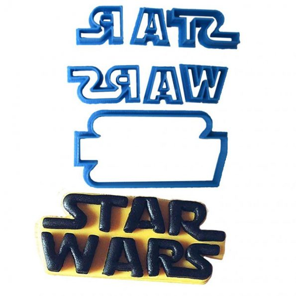 star wars fondant molde cortador