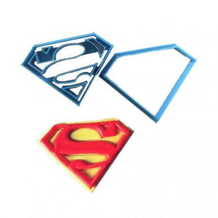 superman logo fondant molde cortador