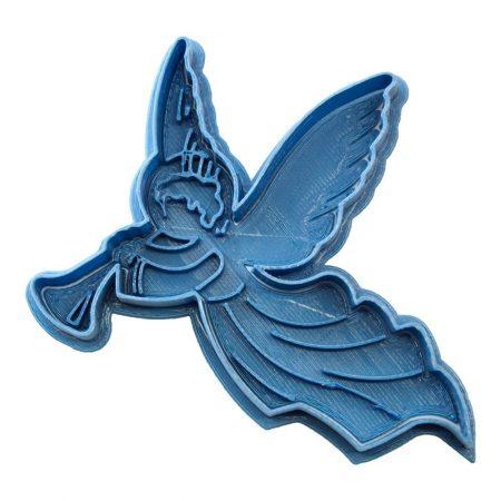 cortador de galletas angel navidad
