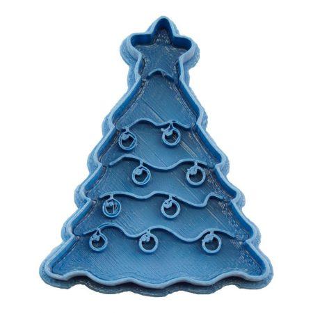 cortador de galletas arbol de navidad