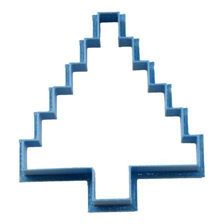 cortador de galletas arbol pixel