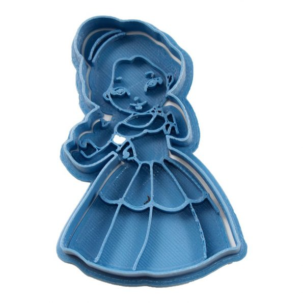 cortador de galletas bella princesa