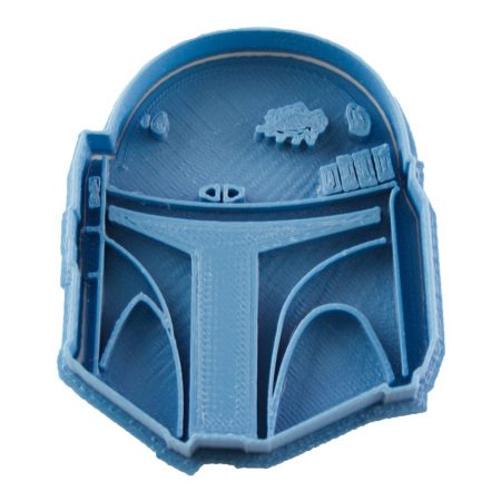 cortador de galletas boba fett star wars