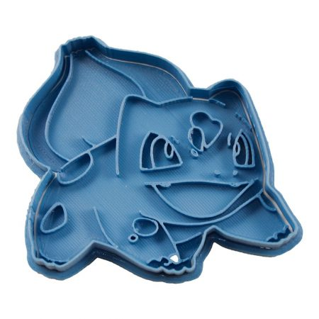 cortador de galletas bulbasaur modelo 2 pokemon