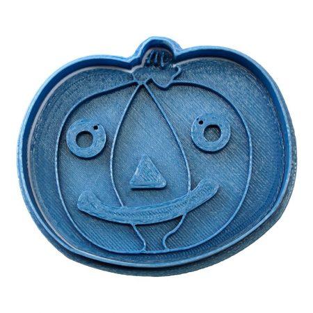cortador de galletas halloween calabaza