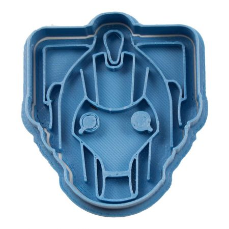 cortador de galletas doctor who cyberman