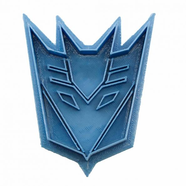 cortador de galletas decepticon transformers
