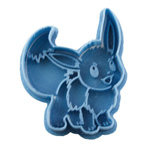 cortador de galletas eevee de pokemon