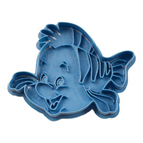 cortador de galletas flounder la sirenita