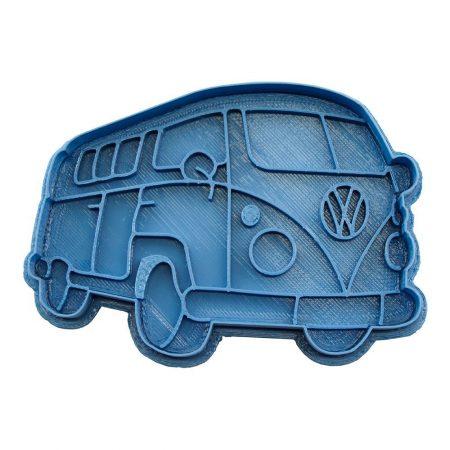 cortador de galletas furgoneta volkswagen