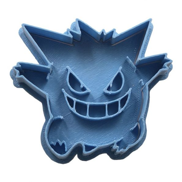 gengar cortador de galletas pokemon