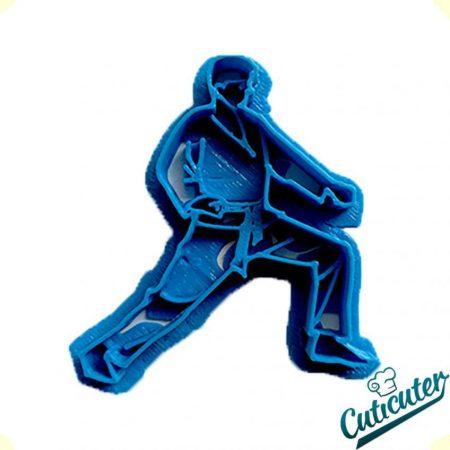 cortador de galletas karate modelo 3