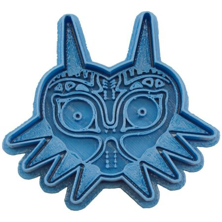 cortador de galletas majoras mask the legend of zelda