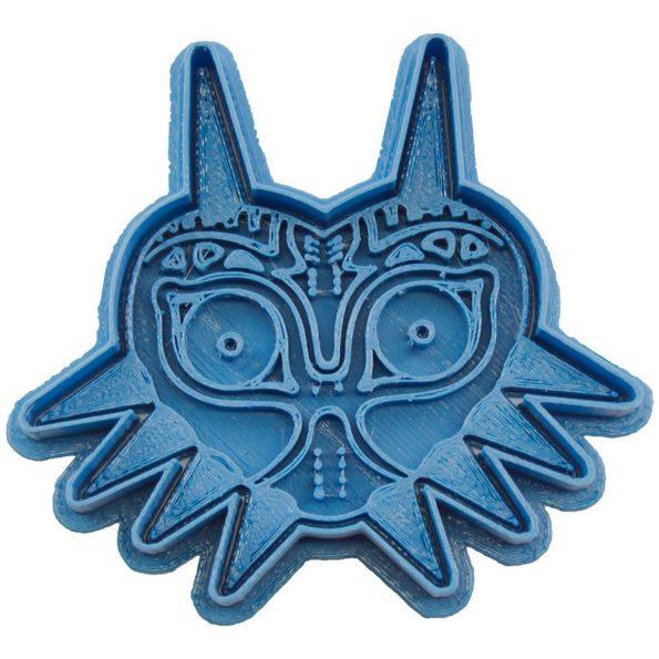 cortador de galletas majoras mask the legend of zelda