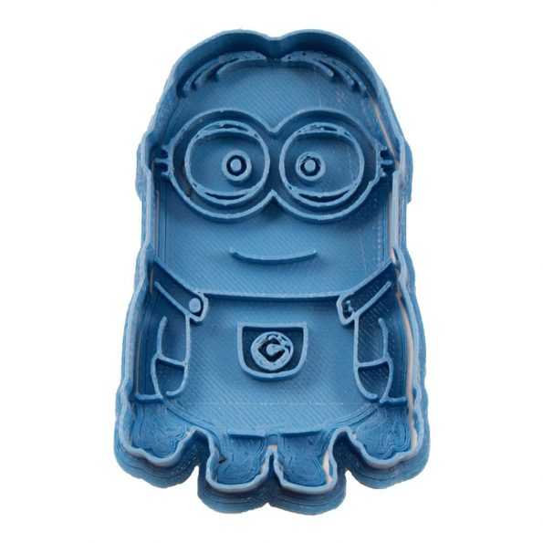 cortador de galletas minion entero