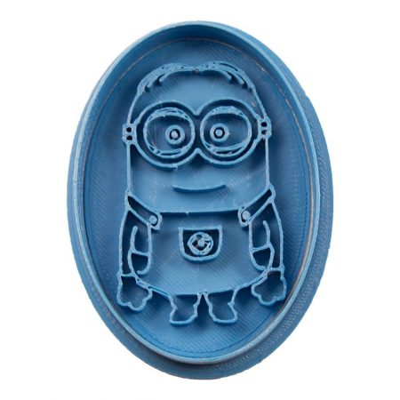 cortador de galletas minion oval