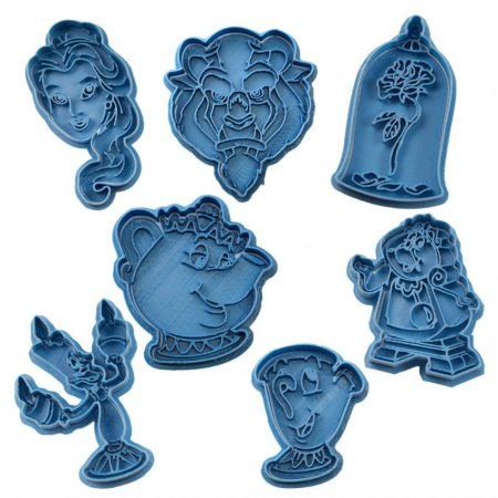 beauty and the beast cookie cutter
