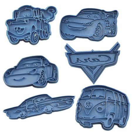 cortador de galletas cars disney