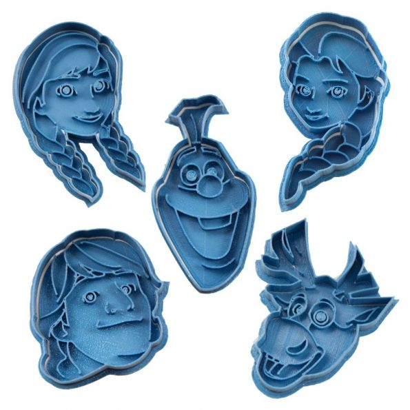 cortador de galletas disney frozen