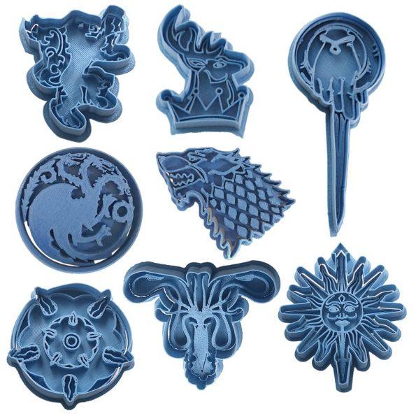 cortador de galletas juego de tronos
