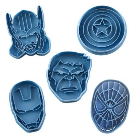 marvel cortador de galletas