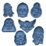 star wars pack cookie cutter