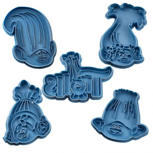 trolls cookie cutter