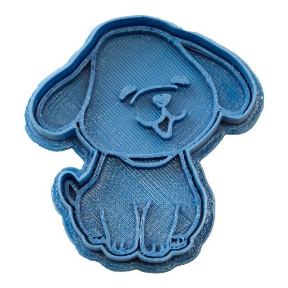 cortador de galletas perro