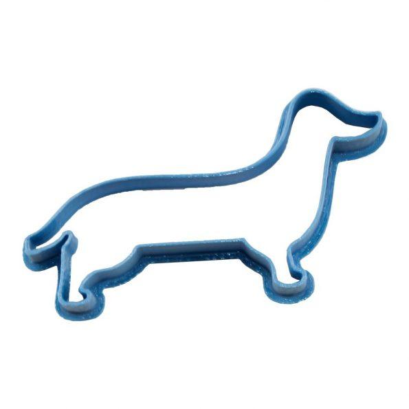 cortador de galletas forma perro