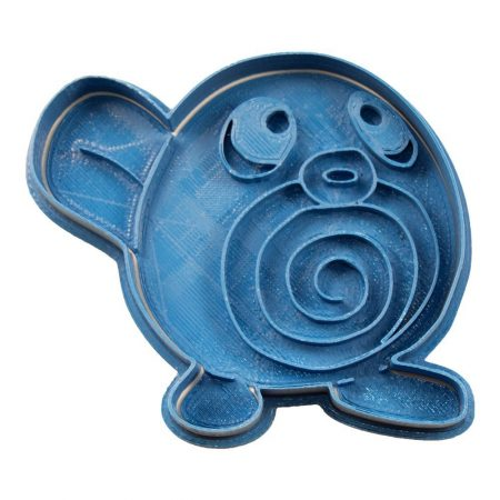 cortador de galletas poliwag pokemon
