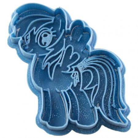 cortador de galletas rainbowdash my little pony