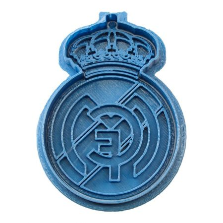 cortador de galletas real madrid futbol