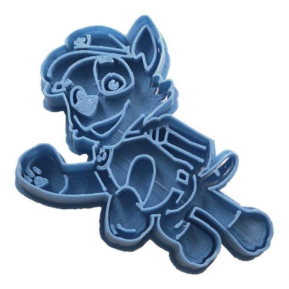 cortador de galletas rocky paw patrol