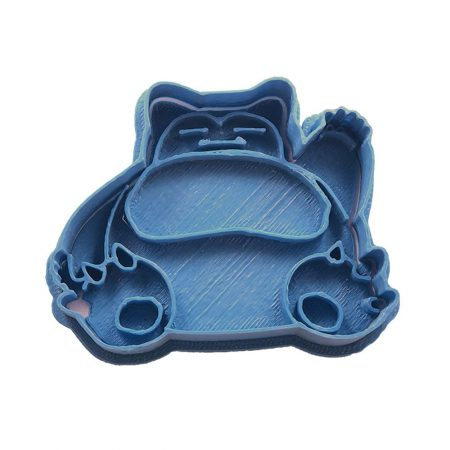 cortador de galletas snorlax pokemon