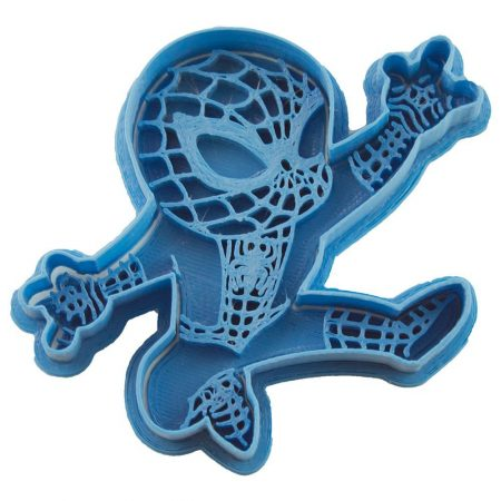 cortador de galletas spiderman chibi marvel