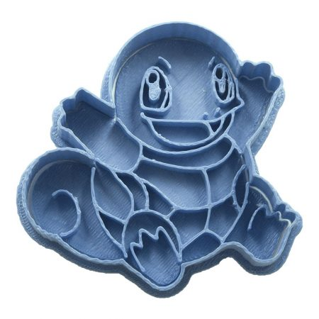 cortador de galletas pokemon squirtle