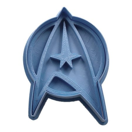 cortador de galletas star trek insignia