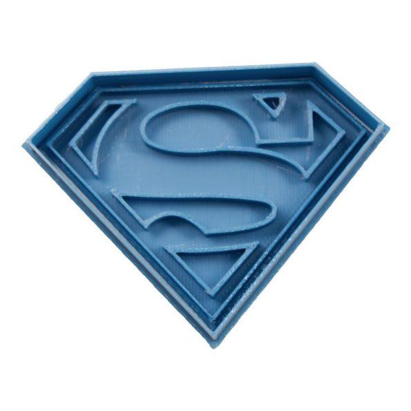 cortador de galletas superman