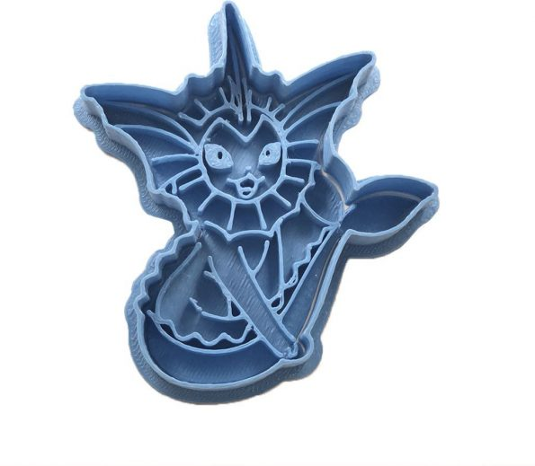 cortador de galletas vaporeon pokemon