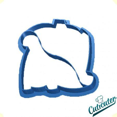 cortador de galletas dino