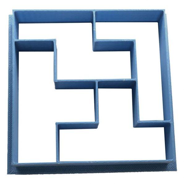 cortador de galletas tetris