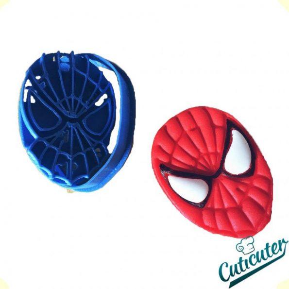 spiderman fondant molde