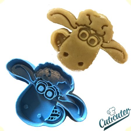 shaun the sheep cookie cutter