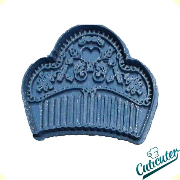 Fallera comb cookie cutter