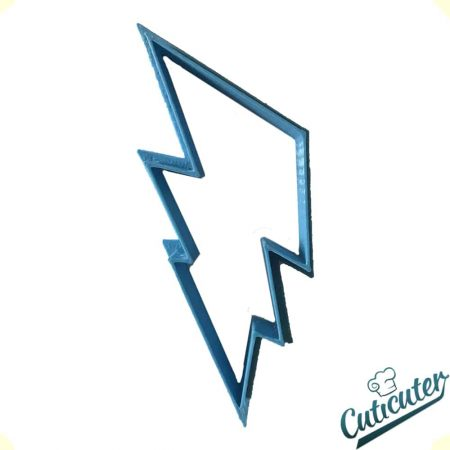 lightning shape cookie cutter