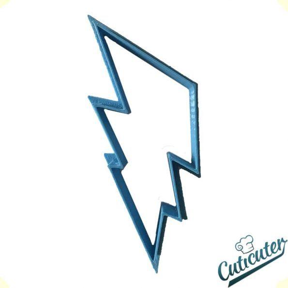 lightning shape cookie cutter