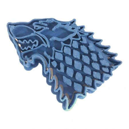 house stark game of thrones cookie cutter
