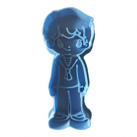 Comunion Cute Kid cookie cutter