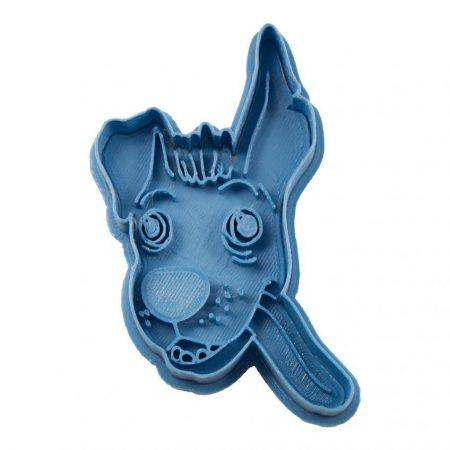 dante coco dog cookie cutter