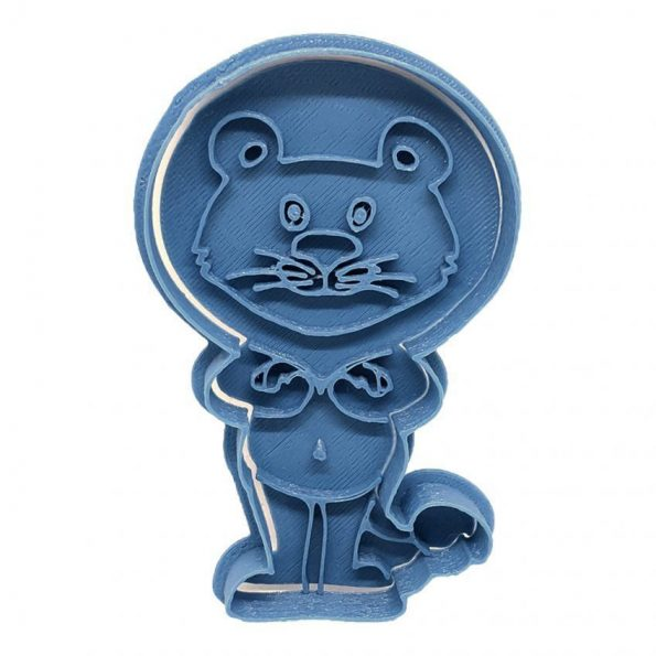 lion cookie cutter